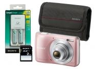SONY DSCS5000P Kit (SD 2GB,2AA,φορτιστής,θήκη)