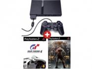 Σετ PS2+GOW2+GT4